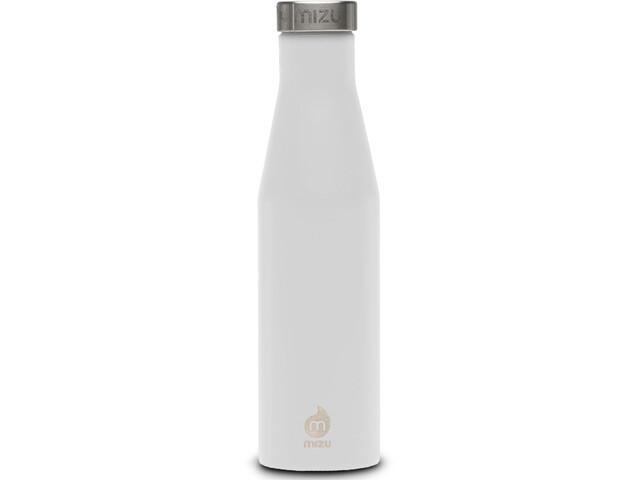 MIZU S6 Botella con aislamiento con Tapa Acero Inoxidable 600ml, enduro white
